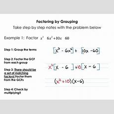Smart Practice Factoring By Grouping