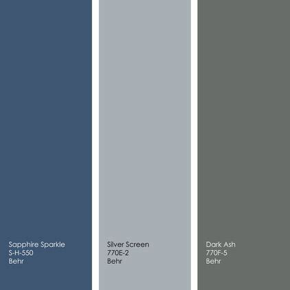 left to right all from behr sapphire sparkle s h 550