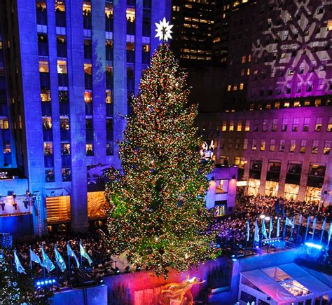 when is the christmas tree lighting nyc 80th annual rockefeller center christmas tree lighting