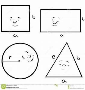 Geometrische Formen Berechnen : geometrische formen vektor abbildung bild von quadrat 18172917 ~ Themetempest.com Abrechnung