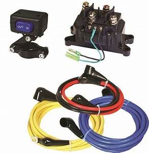 New Heavy Duty Replacement Atv Winch Wiring Kit Switch