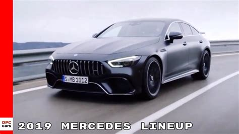 mercedes production cars lineup youtube