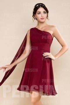 robe de mariée voilée robe bordeaux courte pour demoiselle d honneur asym 233 trique avec voilage robedesoireecourte fr