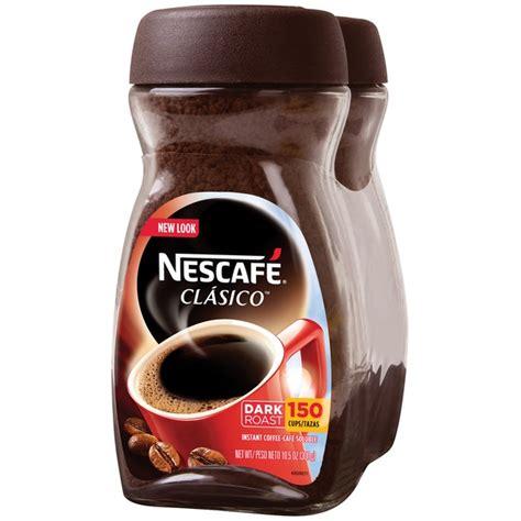 Nescafe Clasico Clasico Instant Coffee (10.5 oz) from Costco   Instacart