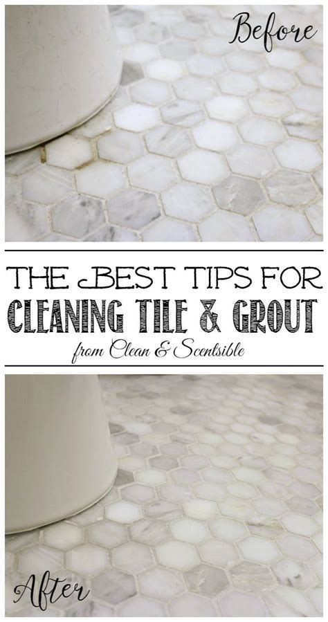 best way to clean tile grout how to clean grout clean and scentsible