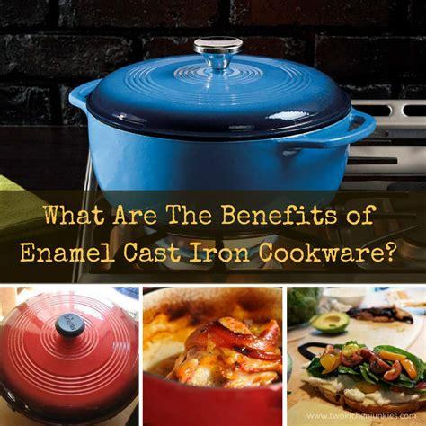 benefits  enamel cast iron cookware  kitchen junkies