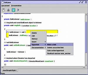 the software concordance project With html documents editor