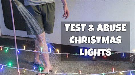 how to test christmas lights testing lights