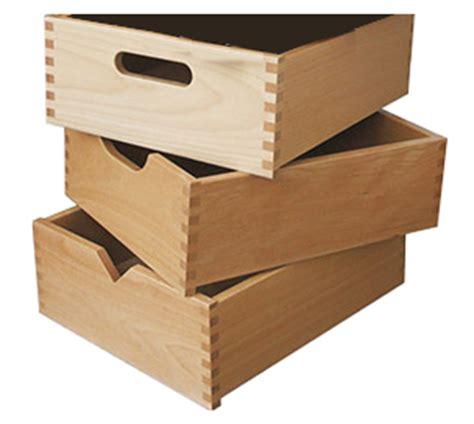 cassetto in legno cassetto in kit in legno massello