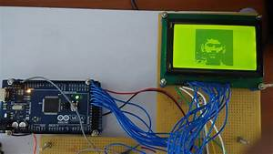 Interface Glcd With Arduino  Display Your Photo In Glcd
