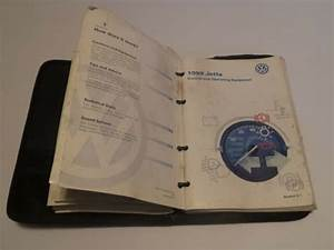 1999 99 Vw Volkswagen Jetta Complete Owners Manual Books