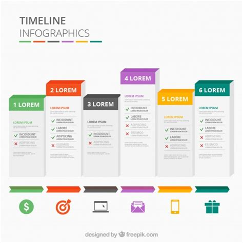 Timeline Template For Numbers Mac by Timeline Infographics Vector Premium Download