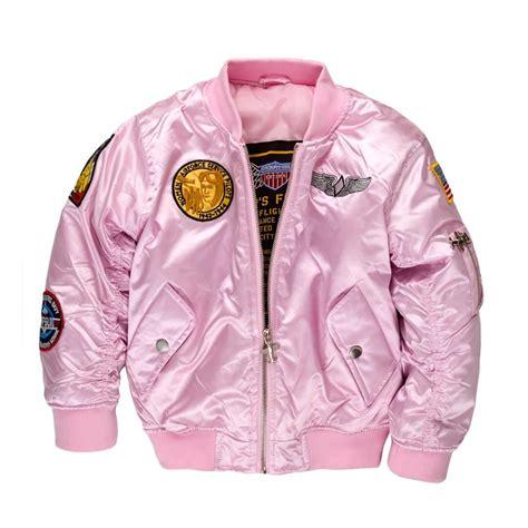 Jacket For by Child S Pink Ma 1 Flight Jacket Pilot Jacket