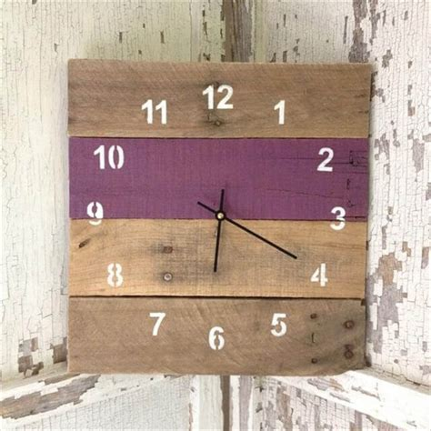 easy diy wall clock ideas  room