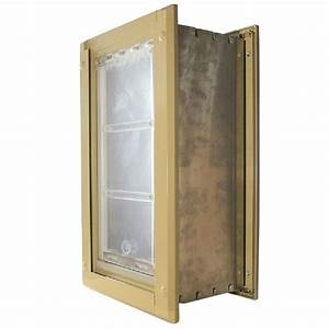 endura flap 8 in x 15 in medium single flap for walls With endura flap dog door