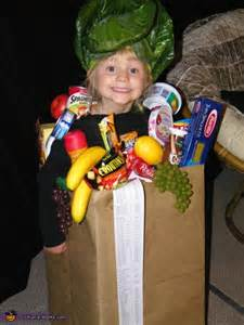 Homemade Halloween Costume Bag