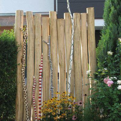 Sichtschutz Garten Robinie by Robinienholz Stamm Geschliffen 12 16 2 0 Garten