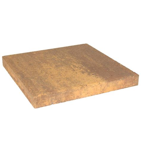 oldcastle 16 in x 16 in harvest blend concrete step