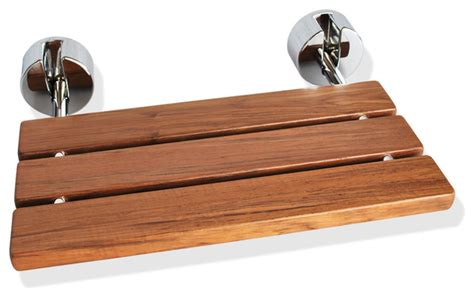Fold Down Teak Shower Bench by Wall Mounted Teak Wood Folding Shower Seat Contemporary
