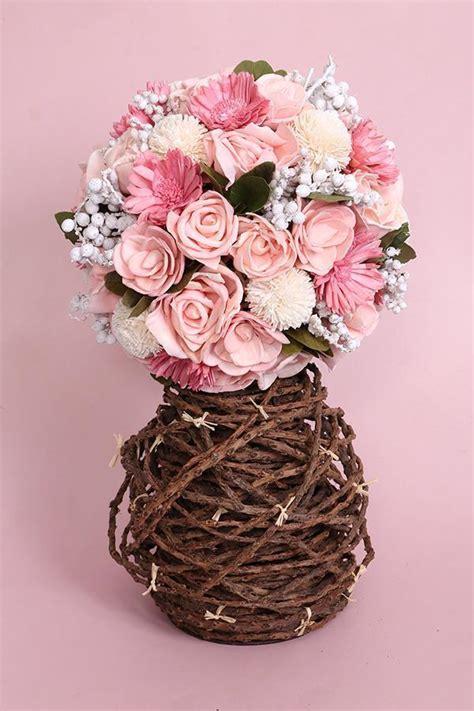 maeva dried flower bouquet pretty pink  maeva store