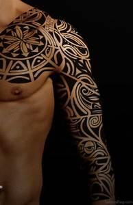 3d Tattoos Kosten : 70 fabulous tribal tattoos on full sleeve ~ Frokenaadalensverden.com Haus und Dekorationen