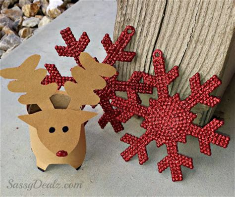cool christmas crafts  toilet rolls natural  age mum