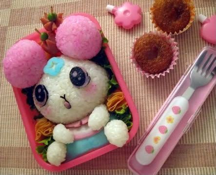 Pin Anime Panda Happy Lunchbox On 50 Best Bentos Images On Bento Ideas