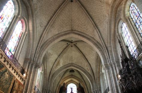 Ribbed Groin Vault Ceiling by Church Architecture Gothic Era Churchgoers Blog