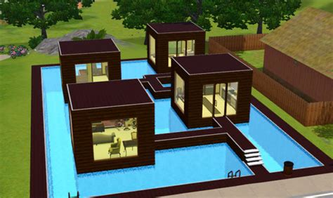 16 Photos And Inspiration Cool Sims 3 House