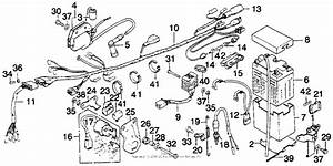 Wire Harness For 1976 Honda Mt250