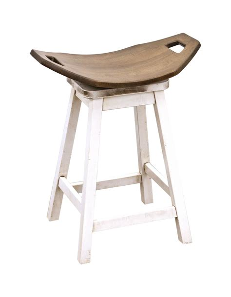 saddle bar stool craft furniture