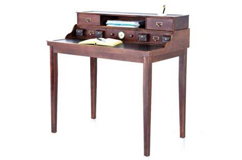 bureau secretaire pas cher secrétaire en bois style colonial colomb bureau pas cher
