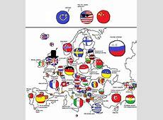 폴란드볼로 보는 세계지도, 미국지도, 유럽지도 네이버 블로그