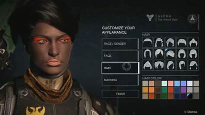 Destiny Character Faces Creator Making Gameplay Vox