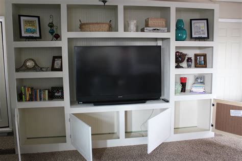 The Living Room Kitchen Renovation Schedule by Entertainment Centers For Living Rooms Remodelaholic