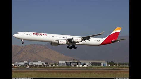 FS9 Airbus A340 600 Iberia Pousando No Galeão SBGL YouTube