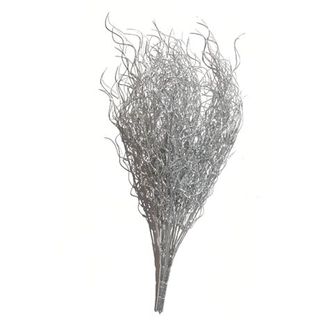 silver branches silver ting curly ting silver stems