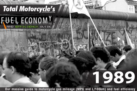 1989 Motorcycle Model Fuel Economy Guide In Mpg And L/100km