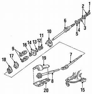 Mercury Grand Marquis Steering Column Bearing  Wheel