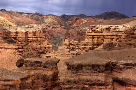 charyn canyon canyon  kazakhstan thousand wonders