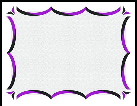 certificate border templates  word image