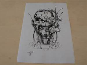 Pics For > Eddie Iron Maiden Drawing