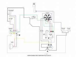 Modern Vespa   Vespa Sprint 12v Px  Lml Motor