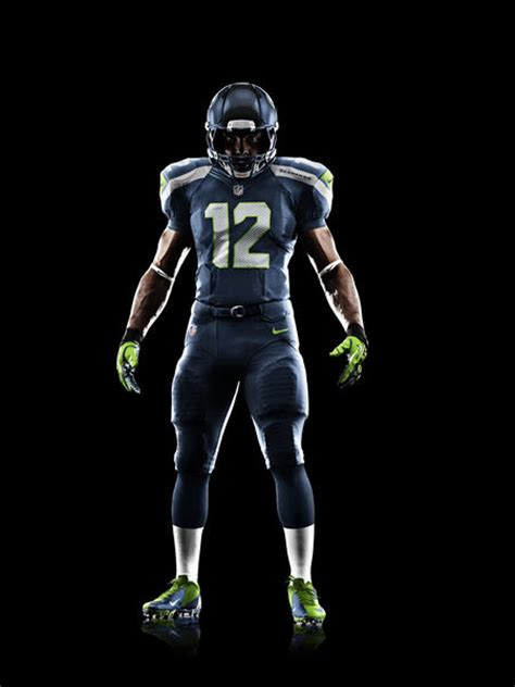 seattle seahawks  nike football uniform nike news