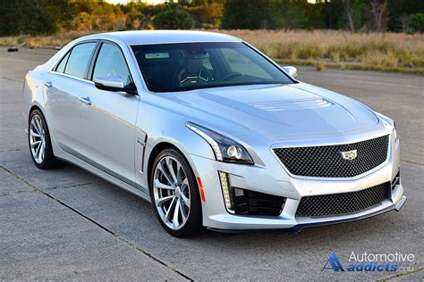 2016 cadillac cts v review test drive