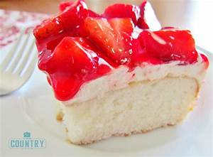 Strawberry Shortcake Cake - The Country Cook