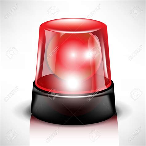 Clipart Flashing Red Light
