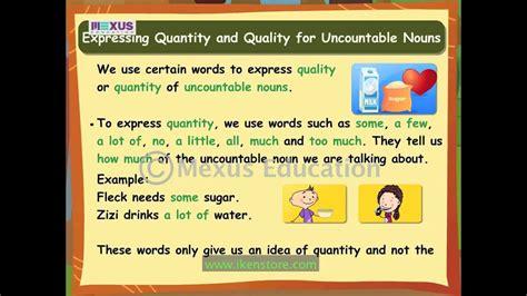 learn english grammar countable  uncountable nouns