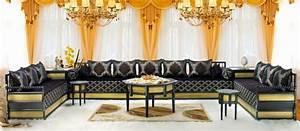 Banquette Marocaine Moderne : la vente de salon marocain sur mesure lyon ~ Dode.kayakingforconservation.com Idées de Décoration
