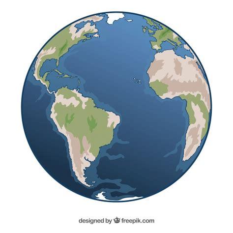 foto de Hand drawn earth globe Free Vector